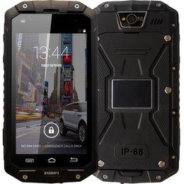 Argentina Nuevo teléfono celular V9 PRO de GuoPhone Discovery V9 con IP68 MTK6580 Android 5.1 3G GPS AGPS teléfono inteligente resistente al agua de pantalla a prueba de 4.5 pulgadas supplier new smart cell phones Suministro