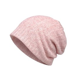 Тонкая полоса онлайн-Woman Fashion Baotou Hat Hair Band Female Thin Section Breathable Wild Cap Scarf Purpose Hat Sun For Summer