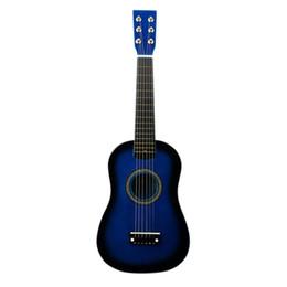 cordas acústicas Desconto Fste-irin mini 23 polegadas basswood 12 trastes 6 cordas violão com picareta e cordas para crianças / iniciantes