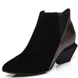 LOVEXSS Femme Automne Hiver Plate-Forme Bottines Mode Plus La Taille 34 39 Martin Bottes Noir Argenté Vert À Talons Chaussures ? partir de fabricateur