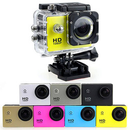 câmeras de espionagem de mini-noite sem fio Desconto Ostenta a câmera SJ 4000 1080P 2 polegadas LCD HD completo sob a gravação impermeável do esporte DV de 30M