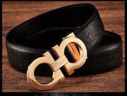 Wholesale men s fashion accessories - Fashion men's belt youth belt business casual leather leather pants belt male luxury accessories.