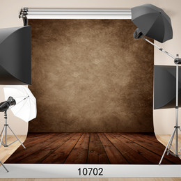 Wholesale Solid Color Vinyl Photography Backdrops - Solid Color Brown Vinyl Backdrop Photo Studio Props Children Baby Photography Background Digital Screen Wedding Backdrops