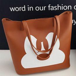 Wholesale Trendy Shoulder Bags - 2018 Hot Sale summer new Mickey handbag shoulder diagonal package fashion trendy female bag Free shipping