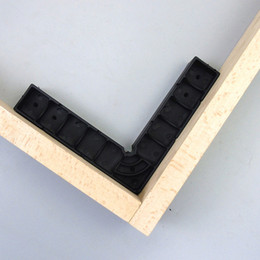 Discount block clamp - 2pcs Plastic Precision 90 Degree Right Angle Clamp Positioning Block Jig Clamp for Woodworking