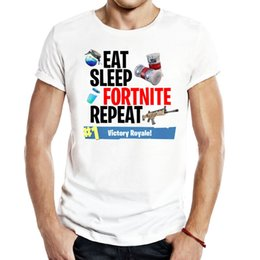 Wholesale ninja red - Fortnite Men Unisex Gaming T Shirts video game fantasy battle royale pubg fallout trending ninja humor Casual popular Tees Tops