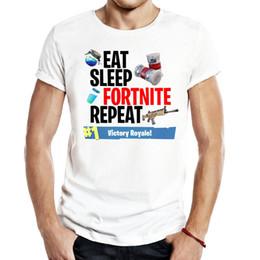 jeu vidéo multi Promotion Fortnite Hommes Unisexe Gaming T Shirts jeu vidéo bataille fantastique fantaisie royale pubg fallout tendance humour Casual populaire Tops Tops