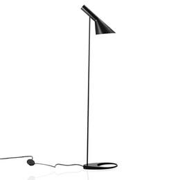Wholesale Indoor Floor Lamps - Black White Red Indoor Floor Lamps Modern Attractive Living Room Fashional Floor Hotel Lighting Bedside Lamps For Bedroom