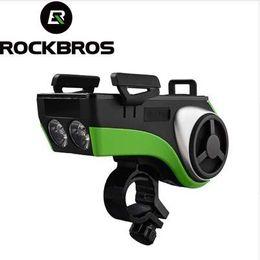 ROCKBROS Bisiklet Feneri Su Geçirmez Bisiklet Işık Telefon Tutucu Bluetooth Ses MP3 Hoparlör 4400 mAh Güç Bankası Bisiklet Halka Çan nereden