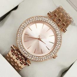 modelos de mesa Desconto 2018 novo modelo de moda mulheres relógio com diamante de aço inoxidável lady marca de luxo marca relógio de pulso relógio de mesa de quartzo relojes de marca mujer