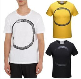 Wholesale Animal Graphics - 2018 Men Printed T-Shirt Hot Sale Graphic Print Round Neck Short Sleeves Top Man 100% Cotton
