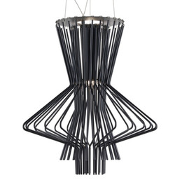 Argentina Moderno LED de Aluminio Araña de Metal Industrial Viento Lobby Lámparas Colgantes Decorativas Sala de estar Mesa Dormitorio Lámparas Suministro
