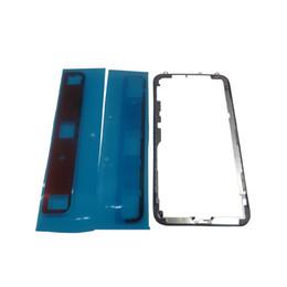 2019 iphone bezel sticker Boîtier de lunette avant avec cadre arrière et autocollant pour iPhone X promotion iphone bezel sticker