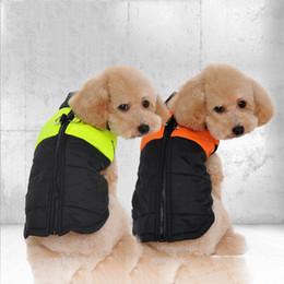 2019 grands vêtements de chien 2018 ventes chaudes Livraison Gratuite Vêtements pour Animaux Grand Chien Gilet Grand Chien Vêtements Vêtements d'hiver Gilet D'hiver Doux Réchauffement nouveau arrivent grands vêtements de chien pas cher