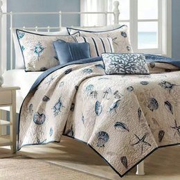 Wholesale Air Conditioned Bedding Quilts - Water wash 100% cotton quilting by summer is cool 100% cotton air conditioning quilt double bed piece set