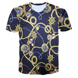 b4be25c3a 2019 animal print estampado de camisetas Diseñador Verano 3D Camisetas  Camiseta para hombre Flores doradas Leones