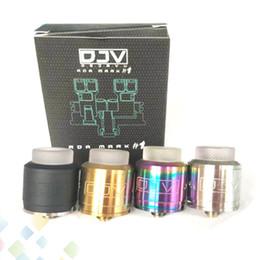 Canada DEJAVU DJV RDA Atomiseur Vape 24mm Dual Decks Fit 510 Cigarette Electronique Mod DHL Gratuit Offre