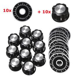10 takım Ayarlanabilir Döndür Düğmesi Potansiyometre 0-100 Ölçekli Sac nereden