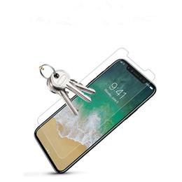iphone flim avant Promotion Protecteur d'écran en verre trempé 0.33mm 3D pour Iphone X XR XS Max Protecteurs d'écran anti-bulles pour Iphone 6 7 Plus 8 film protecteur