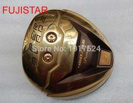 2019 golfarbeiten FUJISTAR WORKS HYPER BLADE hohe Rücken CG und DAT 55 G + Gesicht Titan Golf Driver Kopf Gold Farbe günstig golfarbeiten