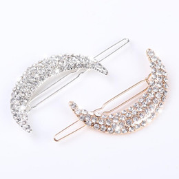 2pcs date cristal lune strass accessoires de cheveux pour femmes pinces à cheveux pour les filles coiffe pinces en épingle à cheveux ? partir de fabricateur