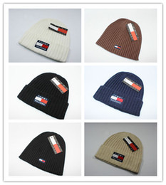 kids novelty christmas hats Promo Codes - Wholesale Luxury Brand Design  Beanies Fashion Casual Knitted Hats 83b783a4cfc9