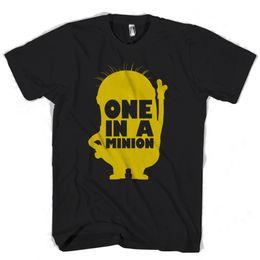 Stampa di minion online-Minion One In A Minion Maglietta uomo / donna Maglietta stampata Maglietta uomo in cotone Nuovo stile