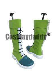 Hunter x Hunter Gon зеленый косплей обувь сапоги от Поставщики охотничьи сапоги
