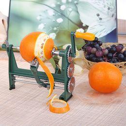 Contatore arancione online-Mouse sull'immagine per ingrandirla New Counter Top Mano Apple Orange Potato Peeler Fruit Vegatable Peel Remover