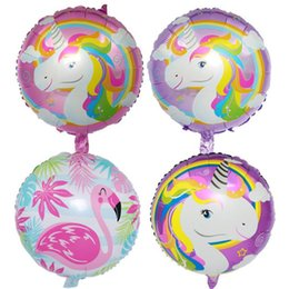 Wholesale Bubble Cartoon - 18 Inch inflatable cartoon ballons bubble helium balloon happy birthday decorations foil balloons wholesale for kids drop shipping