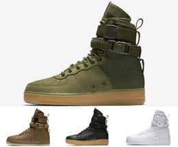 Spécial Champ SF Pour Forcer les forces Hommes Femmes Bottes Hautes Sports Chaussures De Course Armé Classique Hip Hop En Plein Air Marche Baskets ? partir de fabricateur