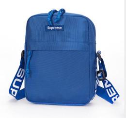 kits de embrague al por mayor Rebajas 2018 nuevo bolso de hombro señoras Messenger marca SUPREME bolso Cosmético del paquete de color del bolsillo del paquete 3 color tamaño 21 * 17 * 7cm