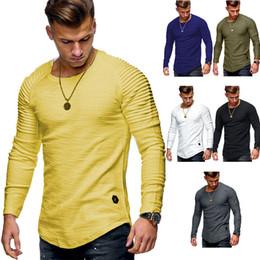 2019 t-shirt à l'épaule T-shirt à manches longues à manches longues T-shirt à manches longues t-shirt à l'épaule pas cher