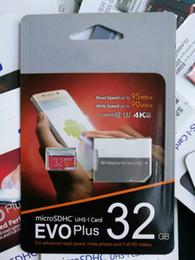 Wholesale 32gb Mini Sd Cards - Hot EVO Plus 128G 64GB 32GB Mini Card 128GB TF Memory Card SD Card Class 10 S