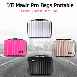 Wholesale Rc Spare Parts - Bag for DJI Spark Waterproof Hardshell Handbag PC Case Bag RC Spare Parts Suitcase Box for DJI Spark Accessories