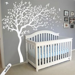 Wholesale Tree Life Wall Decal - Simple Life 3D Tree Wall Sticker Home Stickers Vivid Plants Bathroom Room Decoration PVC Decals Art Sticker Wall Poster