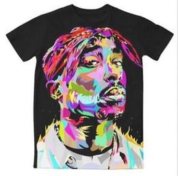 Wholesale 5xl Funny T Shirts - New Fashion Couples Men  Women Unisex 2Pac Tupac Funny 3D Print No Cap Casual T-Shirts Tee Top Wholesale QW81
