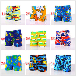 d12b7b2bb8a9d Summer Boy Swim Trunks Baby Boy Clothes Polyester Animal Printed Swimwear  Kids Board Shorts Boys Swimsuit for 1-10T M111