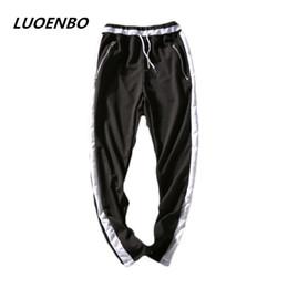 justin bieber FOG Unire i pantaloni da jogger Nero rosso blu 2018 bottoms  pantaloni con zip laterali hip hop Abbigliamento urbano di tendenza nebbia  blu in ... 1a41fd7b398d