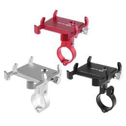 Универсальное крепление для мотоциклов онлайн-Anti Slip Bicycle Phone Holder Universal Bike Motorcycle Handlebar Mount Clip Mobille Holder Stand Extender for 3.5-6.2in Phones