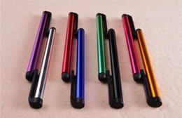 Wholesale toy touch screen phones - Capacitive Stylus Pen Touch Screen Highly Sensitive Pen For ipad Phone iPhone Samsung Tablet Mobile Phone