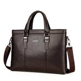 Porta-Homens Bolsa Homens de Negócios do ombro Messenger Bags Luxury Designer Grandes Homens capacidade para notebook Bolsa de alta qualidade Bag de