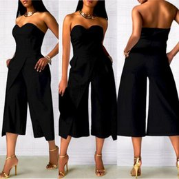 women clubwear bodysuits 2018 - KANCOOLD Bodysuit high quality Ladies Clubwear Playsuit Bodycon Party Jumpsuit Sleeveless Trousers Bodysuits women feb5