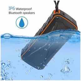 Canada S610 haut portable Bluetooth 4.1 haut-parleur subwoofer avec Double corne IP66 étanche haut-parleurs portables sans fil DHL livraison gratuite Offre