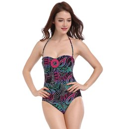 6e0af537c8 2017 New European Large Size Lady Joint Swimsuit Nylon Lady Swimsuit  Multi-yard Size Color Board Bathing suit One Piece Bikinis Mujer