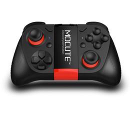 gamecontroller für pc Rabatt Original MOCUTE 050 Drahtlose Bluetooth Gamepad PC Spiel Controller für Smartphone TV Box Mit Eingebautem Faltbaren Halter Wireless Game OTH138