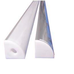 2019 alumínio para led perfil de alumínio de LED, 2m por conjunto, LED perfil de extrusão de alumínio para tiras de led com tampa difusa leitosa ou tampa transparente SN1616 alumínio para led barato