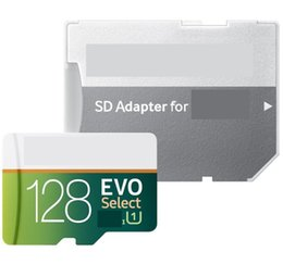 Canada Carte mémoire SD carte mémoire SD de 64 Go avec emballage au détail Blister Carte vitesse rapide EVO Select 128G 256 G pour téléphones Android supplier evo phones Offre