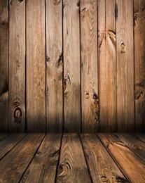Vintage fotografie kulissen holz online-Vinyl Vinyl Fotografie Kulissen Foto für Foto-Studio-Vintage Wood Baby-Photo Hintergrund-Hintergrund Props S-1103
