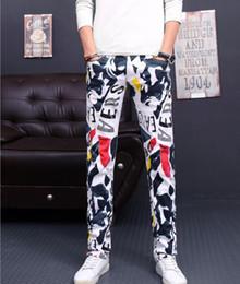 Argentina Envío gratis pantalones vaqueros blancos para hombre Robin Rock Revival Jeans Crystal Studs Pantalones de mezclilla Pantalones de diseñador para hombre tamaño 28-46 Nuevo cheap size 46 trousers Suministro